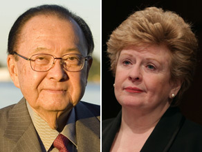 Sens. Daniel Inouye and Debbie Stabenow have both signed on to a letter calling for a health care public option to be adopted by reconciliation.