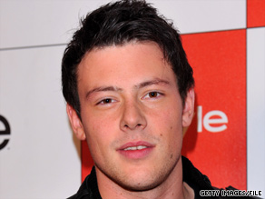 Cory Monteith is one of the cast members of 'Glee' who tweeted about being invited to the White House.