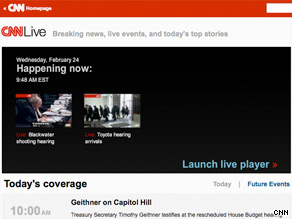 Wacth coverage of major events on CNN.com/live.