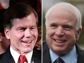 Virginia Gov. Bob McDonnell said Tuesday he is 'proud' to support Sen. John McCain for re-election.