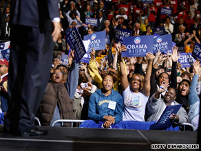 A new poll indicates President Obama's support among younger voters has dropped since his election.