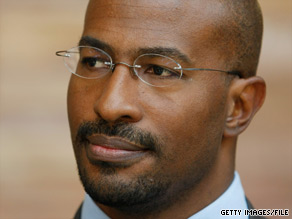 Van Jones left his administration &#039;green czar&#039; post in 2009.