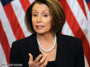 House Speaker Nancy Pelosi rejected Republican demands to start over on health care.