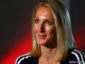 Paula Radcliffe is a marathon-running mother.