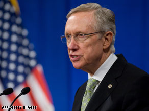 Senate Majority Harry Reid will be among those answering questions on YouTube.