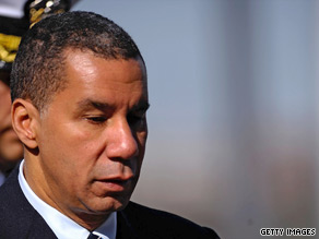 New York Gov. David Paterson said again Friday that he would not resign his office.