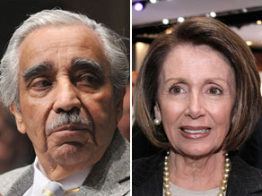 House Speaker Nancy Pelosi defended Rep. Charlie Rangel over ethics charges against him.