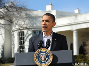 President Obama gave a brief statement Saturday about the massive earthquake in Chile and preparations for a potential tsunami on U.S. shores.