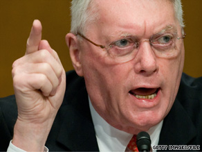 Retiring Sen. Jim Bunning, R-Kentucky, led a spirited Senate debate with Democrats over the benefits package -- at one time cursing at another senator on the floor.