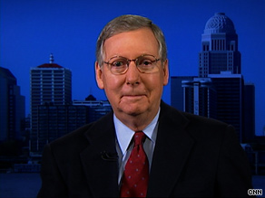 Sen. McConnell pointed to recent GOP victories in Virginia, New Jersey, and Massachusetts as reasons for optimism about his party's prospects in November.