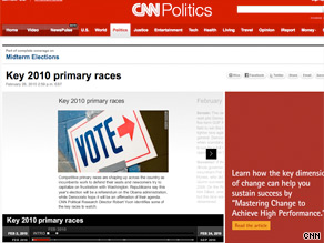 CNN Political Research Director Robert Yoon identifies some key 2010 primary races.