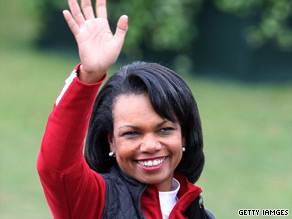 Former Secretary of State Condoleezza Rice is weighing in on the California gubernatorial race.