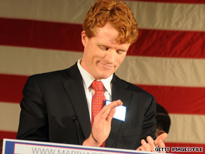 Joseph Kennedy III said Monday that he would not run for statewide office in 2010.