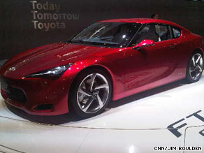 Toyota's sporty prototype, the FT-86S.