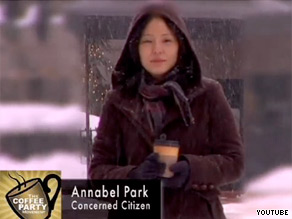Annabel Park used her Facebook page to call for a Coffee Party.