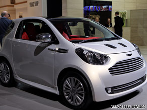 The Cygnet mark's Aston Martin's entry in the compact car market.