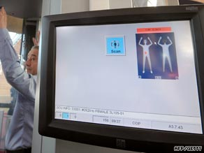 Do you approve of the use of body scanners at airports?