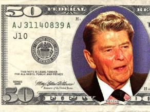 Could Reagan overtake Grant on the $50?