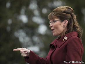 Sarah Palin is backing three Republicans seeking House seats in November.