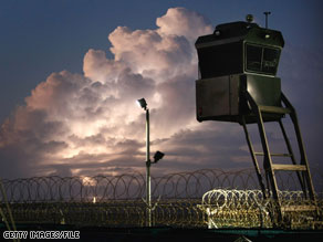 The U.S. military detention facility at Guantanamo Bay houses high value terror detainees.
