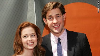 'The Office's' Jenna Fischer and John Krasinski