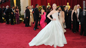 Rate Sunday's Oscar gowns from 1 to 10