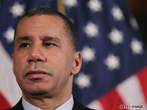 According to a new poll, 68 percent of New York voters want Gov. David Paterson to stick out the rest of his term.