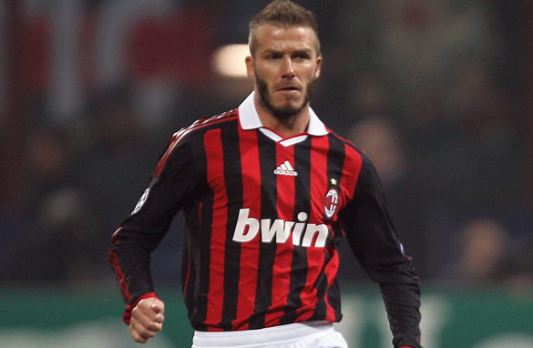David Beckham's commitment and obvious love of playing has ensured he remains a worldwide football icon.