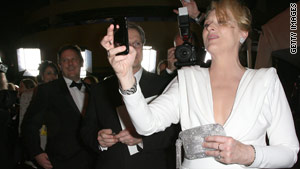 Meryl Streep at the Governor's Ball