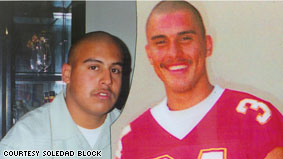 Angel Candia and his younger brother Ronald Brock were killed in a gang related shooting in the same year.