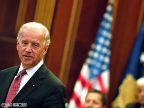 Joe Biden said the U.S. won't play favorites Wednesday while visiting the Middle East.