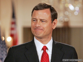 Supreme Court Chief Justice John Roberts on Tuesday said the annual State of the Union address has degenerated into a political pep rally.