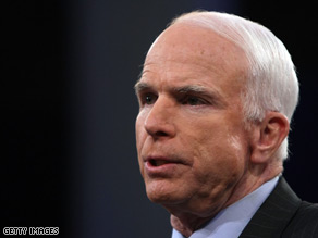 John McCain scored another high-profile endorsement Wednesday.