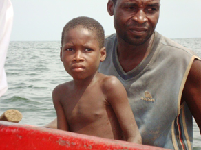 A child slave with his owner.<br /> Photo credit: Benjamin Goode&#039; border=&#039;0&#039;  width=&#039;292&#039; height=&#039;219&#039; /> <div class=