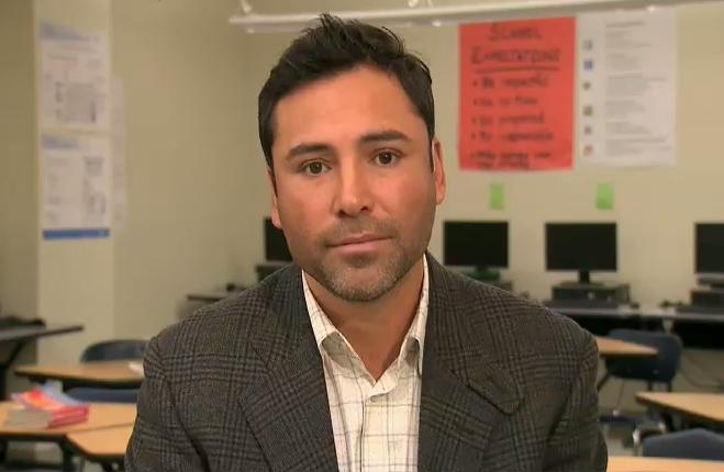 Oscar De La Hoya sat down with Anderson to talk about his plans for Hollenbeck's youth.