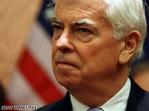 Chris Dodd said Thursday that he will release a draft bill on Monday.