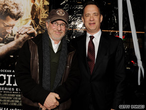 Tom Hanks and Steven Spielberg are expected to attend a White House viewing Thursday of their new HBO mini-series 'The Pacific.'