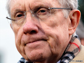 Harry Reid's wife and daughter were injured in a car crash Thursday in Washington.
