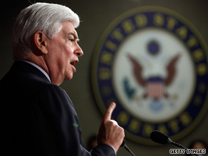 'The clock is ticking,' on financial reform, Sen. Chris Dodd said this week.
