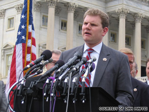New York Rep. Dan Maffei's office has been inundated with phone calls from people opposed to Democratic health care reform calling from outside of his congressional district.