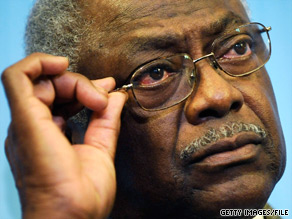 House Majority Whip James Clyburn said Monday he was 'very comfortable' that House Democrats would have the 216 votes necessary to pass the House.