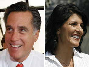 Mitt Romney on Tuesday endorsed Nikki Haley's bid for governor of South Carolina.