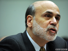 Fed Chairman Ben Bernanke told the House Financial Services panel said he's 'quite concerned' about proposals to limit the Federal Reserve's regulatory power to watching out for only the biggest banks.