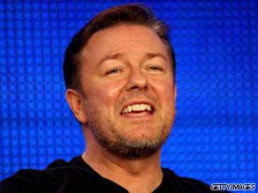 What do you want to ask Ricky Gervais?