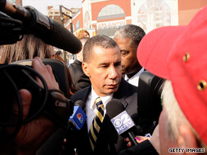 New York Gov. David Paterson said Thursday he was the source of information for the story that led to an ethics investigation and the departure of five top members of his administration.