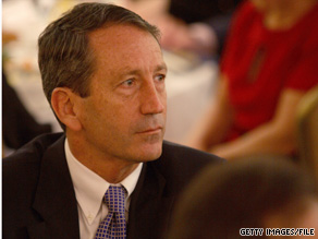South Carolina Gov. Mark Sanford acknowledged Thursday that he violated state ethics rules on campaign spending and government travel.