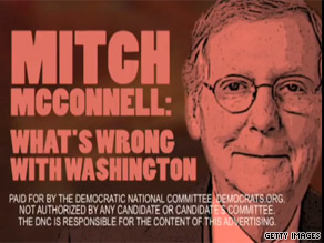 A new ad is taking aim at McConnell.