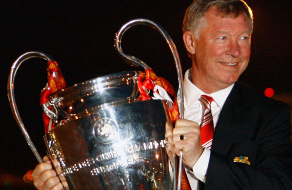 Will Fergie walk off with the cup again in 2010?