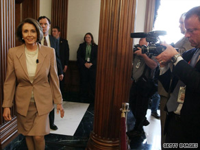 House Speaker Nancy Pelosi said there would be no separate vote on restricting taxpayer funding for abortion.