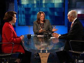 Sens. Feinstein, a Democrat, and Hatch, a Republican, sat down with CNN's Candy Crowley Sunday to discuss the prospects for the health care reform legislation in the Senate.